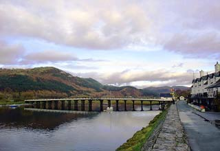 the penmaenpool bridge