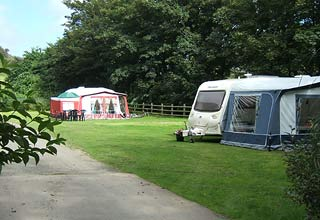 touring caravan holiday
